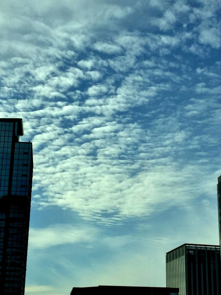 The sky from my office in iLand Tower | Ghichi.com