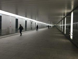 subway in Nishi-shinjuku in Japan | Ghichi.com